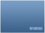 Wyoming state approved logo DEQ water operator certification