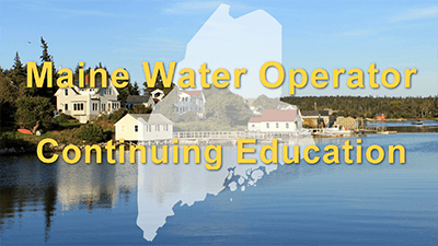 Maine Water Operator Online CE Commercial